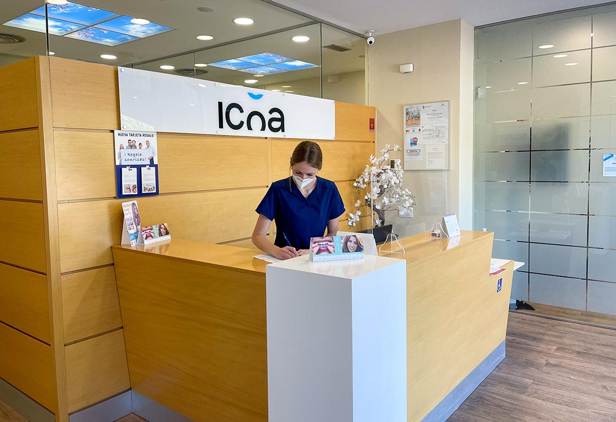 Recepcion Icoa Dental